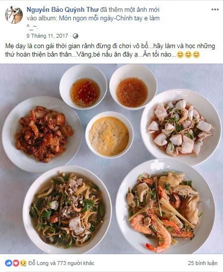 Mục sở thị mâm cơm nhà tự nấu của nữ diễn viên xinh đẹp Quỳnh Thư - Ảnh 3.