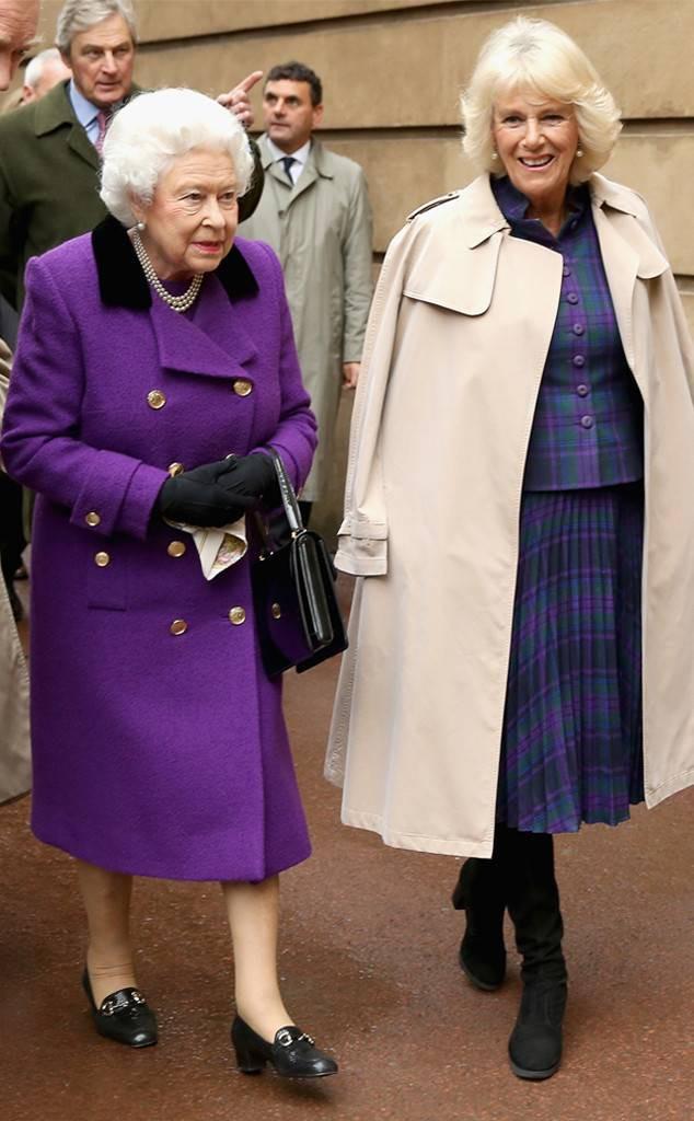 """Không dưới 3 lần """"đụng"""" đồ rực rỡ với Nữ hoàng Anh, bà Camilla chính là nữ nhân Hoàng gia duy nhất dám làm vậy - Ảnh 8."""