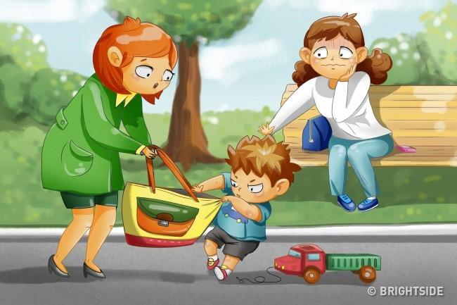 6 hành động xấu của bé có thể bắt nguồn từ chính cách cư xử lỗi của cha mẹ - Ảnh 6.