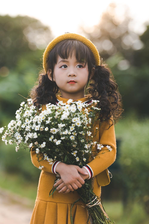 Mẫu nhí Hà Nội xinh như búp bê và thần thái đầy cuốn hút ...