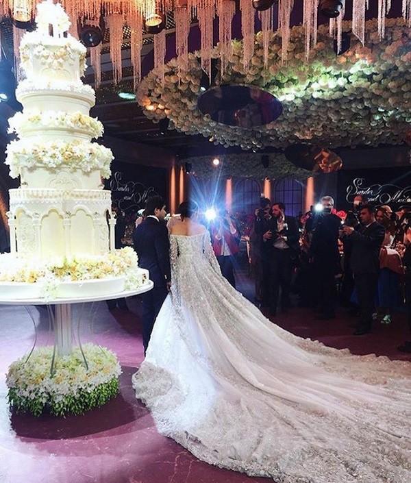 Lóa mắt với đám cưới xa hoa bậc nhất của ông trùm dầu khí với dàn vali của hồi môn đã lên tới 7 tỷ - Ảnh 10.