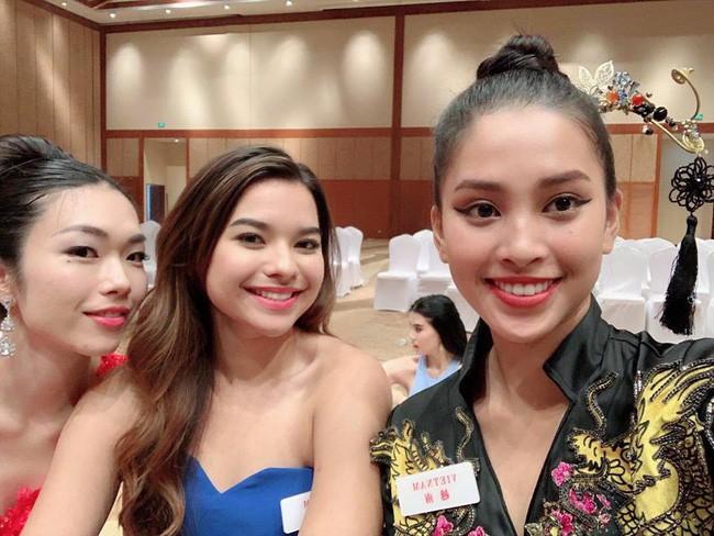 HH Tiểu Vy make up đẹp xuất sắc, lấn át cả dàn thí sinh quốc tế tại Miss World 2018 - Ảnh 8.