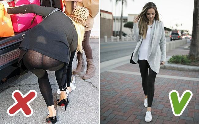 6 kiểu quần legging chị em cần loại ngay khỏi tủ nếu không muốn bị kém duyên trong mắt người khác - Ảnh 2.
