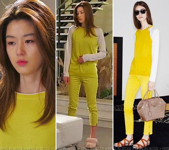 """Jeon Ji Hyun mặc đẹp hơn người mẫu thì ai cũng biết, nhưng cô vẫn phải """"chịu thua"""" trước một người này - Ảnh 2."""