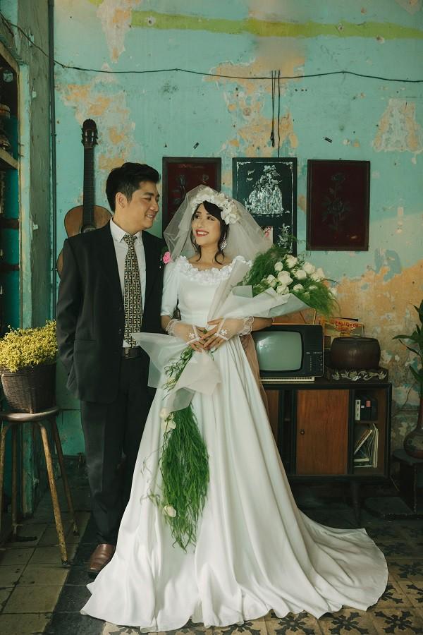 """Bộ ảnh cưới có 1-0-2 """"xuyên không"""" gần 1 thế kỉ của cặp đôi gặp nhau từ nhiều kiếp trước - Ảnh 2."""
