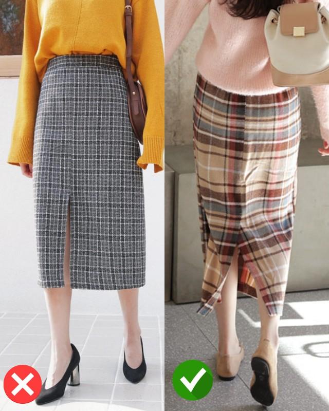 Chú ý chi tiết này khi chọn chân váy kẻ midi, phong cách của bạn sẽ được phong hạng đỉnh cao - Ảnh 2.