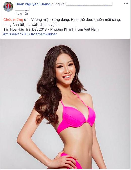 Bùi Phương Nga, HHen Niê, Hoàng Thùy cùng loạt sao Việt thể hiện sự tự hào khi Nguyễn Phương Khánh đăng quang Miss Earth 2018 - Ảnh 7.