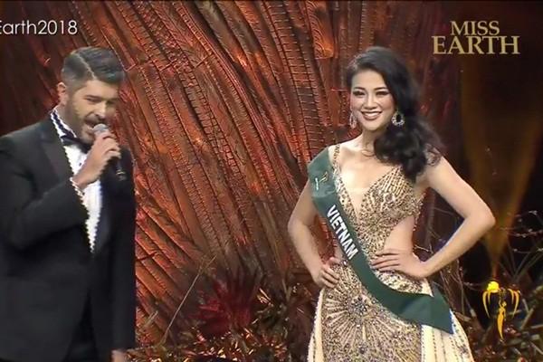 Đại diện Việt Nam - Nguyễn Phương Khánh đăng quang Hoa hậu Trái đất 2018 - Ảnh 3.