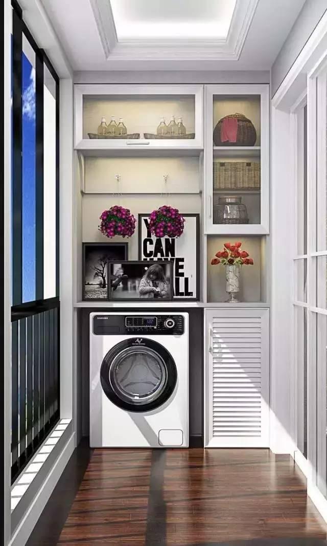 Tận dụng ban công làm nơi vừa thư giãn vừa để máy giặt, giải pháp siêu hay cho những người ở nhà chung cư - Ảnh 6.