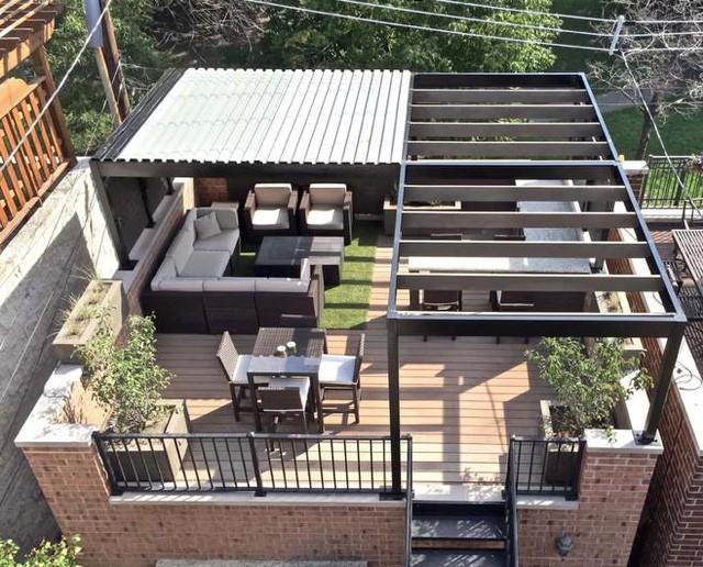 9 ý tưởng sử dụng vật liệu gỗ nhựa composite ngoài trời để cải tạo ngôi nhà bạn thành nơi đáng sống nhất hành tinh - Ảnh 5.