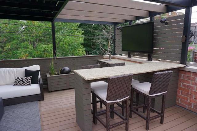 9 ý tưởng sử dụng vật liệu gỗ nhựa composite ngoài trời để cải tạo ngôi nhà bạn thành nơi đáng sống nhất hành tinh - Ảnh 6.