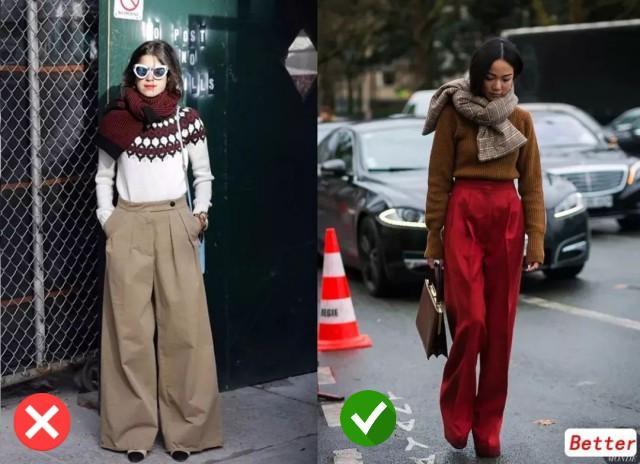 Áo len và quần ống rộng chính là chân ái của các nàng công sở trong thời tiết này  - Ảnh 3.