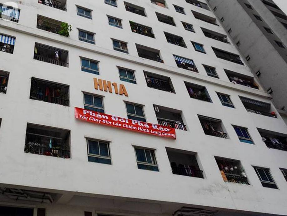 Tranh cãi gay gắt giữa cư dân và nhóm ki-ốt kinh doanh tại chung cư HH Linh Đàm - Ảnh 9.