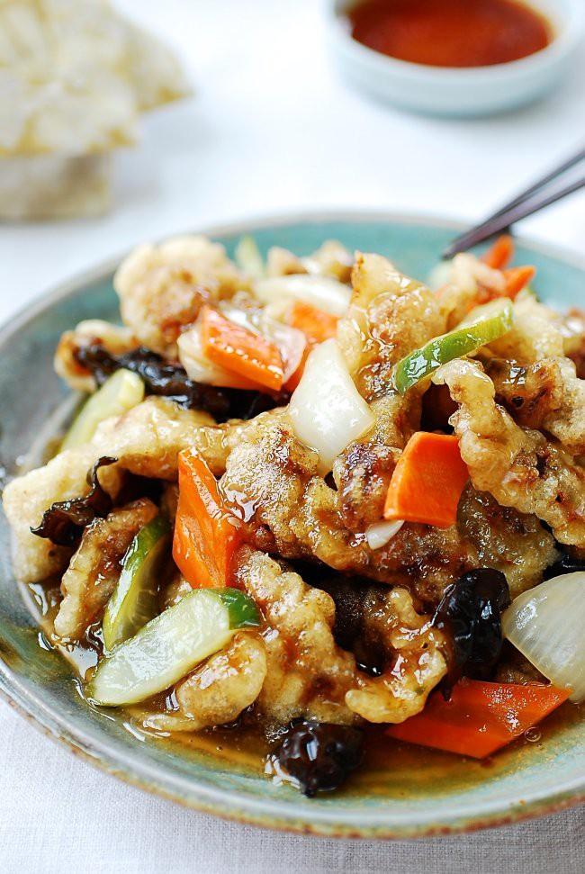 Không thể bỏ qua món thịt xốt chua ngọt kiểu Hàn ngon nức nở này - Ảnh 6.