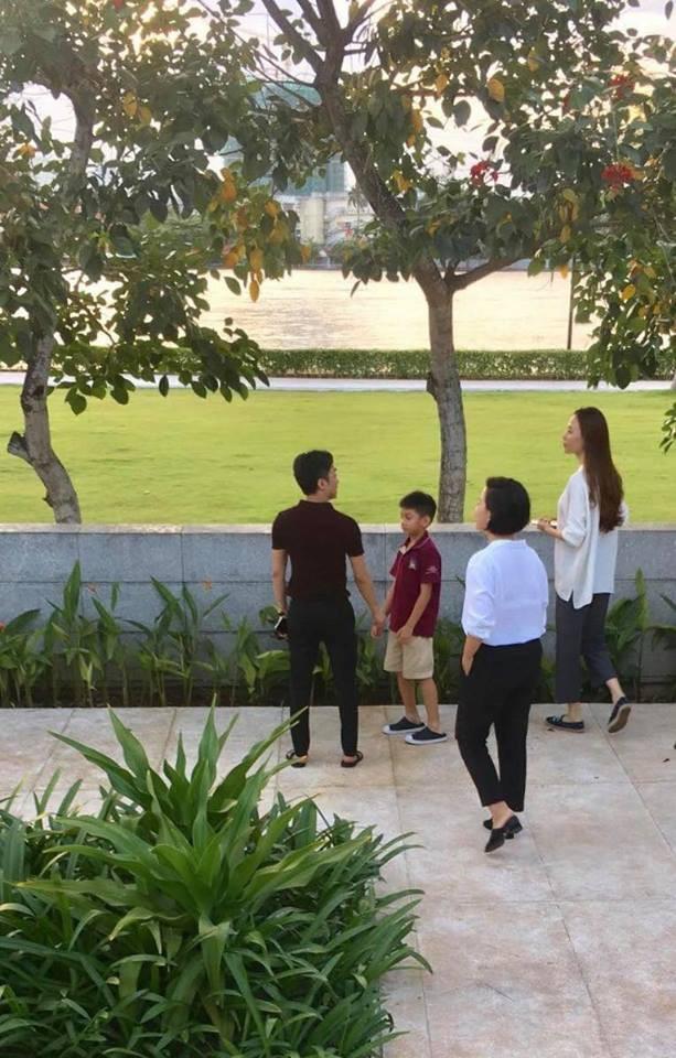 Rò rỉ hình ảnh Cường Đô la dẫn Đàm Thu Trang và Subeo đi xem nhà, chuẩn bị cho đám cưới vào năm sau  - Ảnh 2.