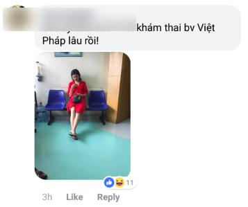 Rộ hình ảnh được cho là Á hậu Thanh Tú đi khám thai tại bệnh viện - Ảnh 2.