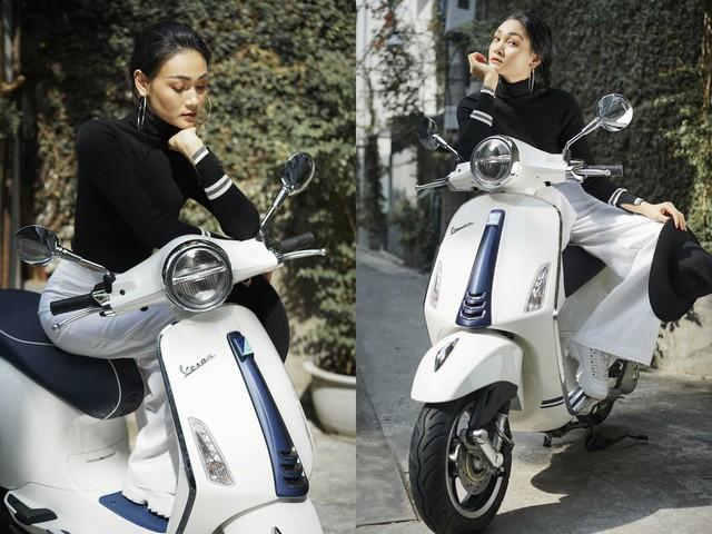Gợi ý mix đồ thanh lịch, trẻ trung cho các nàng thích vi vu trên xe máy - Ảnh 1.