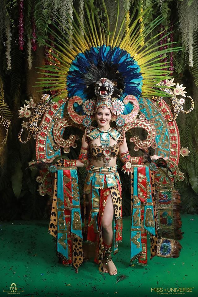 Ngoài Bánh mì của HHen Niê, đây là những bộ trang phục dân tộc chặt chém nhất sân khấu Miss Universe 2018 - Ảnh 6.