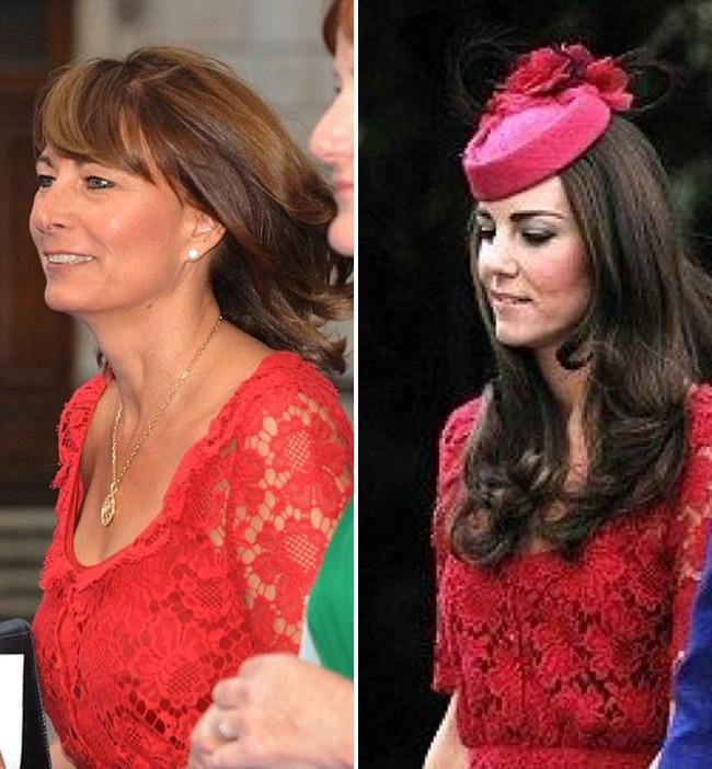 """""""Con nào mẹ nấy"""": đến mẹ đẻ của Công nương Kate Middleton cũng mê mẩn style và diện y như con gái - Ảnh 7."""