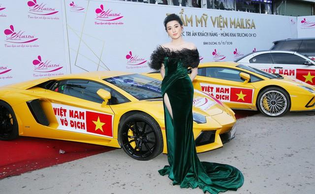Hoa hậu Ngọc Hân, Mỹ Linh đồng loạt diện váy khoe trọn vai trần, nhưng nhìn sang Huyền My ai cũng choáng hơn cả! - Ảnh 6.