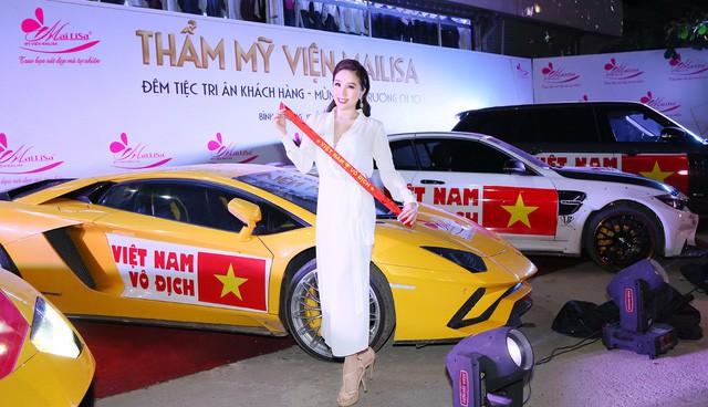 Hoa hậu Ngọc Hân, Mỹ Linh đồng loạt diện váy khoe trọn vai trần, nhưng nhìn sang Huyền My ai cũng choáng hơn cả! - Ảnh 8.