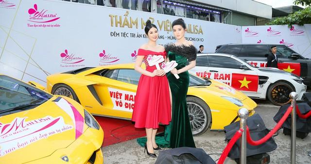 Hoa hậu Ngọc Hân, Mỹ Linh đồng loạt diện váy khoe trọn vai trần, nhưng nhìn sang Huyền My ai cũng choáng hơn cả! - Ảnh 10.