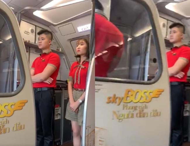 Xôn xao clip chuyến bay Vietjet tiếp tục gặp sự cố ở Nội Bài, tất cả hành khách được yêu cầu xuống máy bay, quay về phòng chờ - Ảnh 1.
