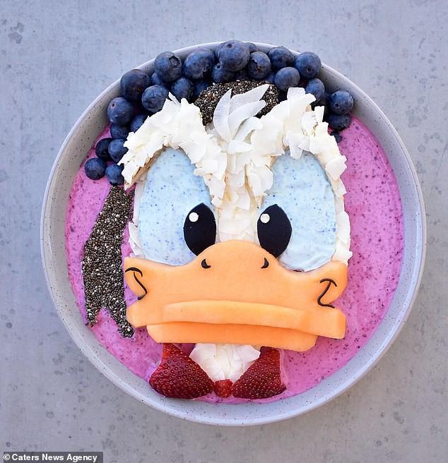 Đã mắt ngắm cách trang trí món ăn tuyệt đẹp của mẹ đảm để dụ dỗ con ăn rau dễ dàng - Ảnh 6.