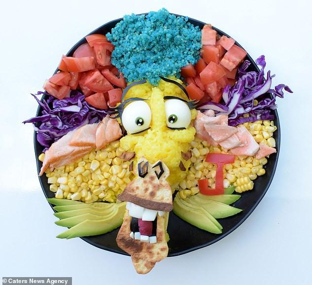 Đã mắt ngắm cách trang trí món ăn tuyệt đẹp của mẹ đảm để dụ dỗ con ăn rau dễ dàng - Ảnh 5.