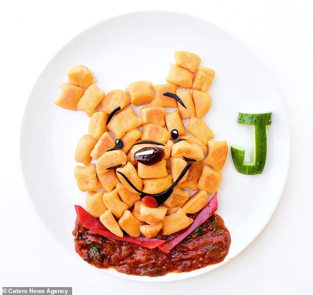 Đã mắt ngắm cách trang trí món ăn tuyệt đẹp của mẹ đảm để dụ dỗ con ăn rau dễ dàng - Ảnh 16.