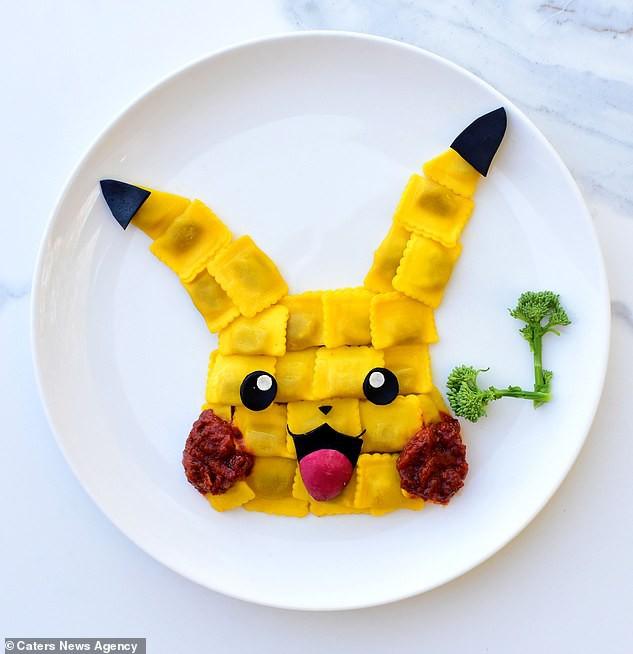 Đã mắt ngắm cách trang trí món ăn tuyệt đẹp của mẹ đảm để dụ dỗ con ăn rau dễ dàng - Ảnh 18.
