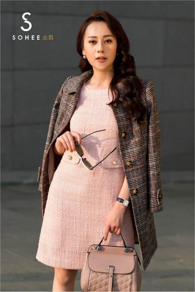Phương Oanh 'Quỳnh búp bê' trở thành 'nàng thơ' của thương hiệu Sohee - Ảnh 1.
