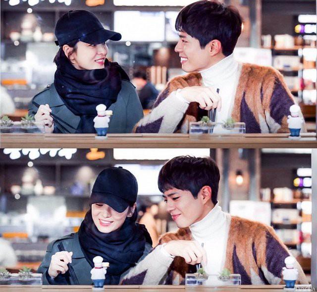 Góc phỏng đoán: Song Hye Kyo mượn mũ của chồng để hẹn hò bí mật với trai trẻ? - Ảnh 3.