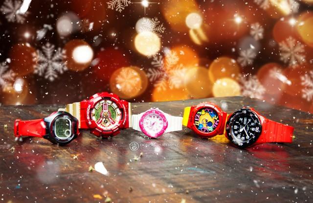 Top 5 mẫu đồng hồ Casio trẻ em chính hãng mùa Noel - Ảnh 1.