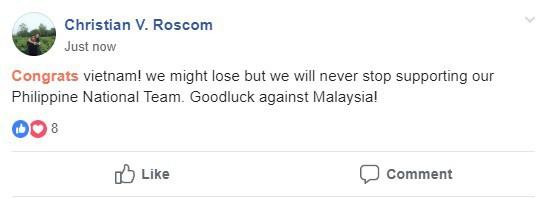 Người Philippines thán phục, chúc Việt Nam gặp may mắn trước Malaysia trong trận chung kết AFF Cup - Ảnh 2.