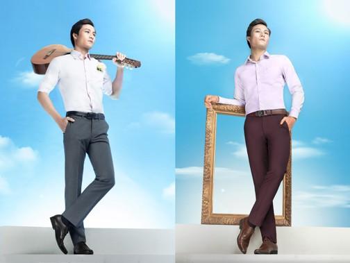 Biến hóa màu sắc quần tây qua BST ''Sống cùng đam mê'' từ Việt Tiến - Ảnh 6.