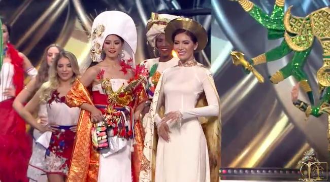 Minh Tú được trao cúp Hoa hậu Siêu quốc gia 2018 do khán giả bình chọn - Ảnh 2.