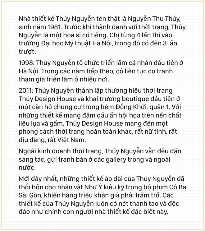 """NTK Thủy Nguyễn: """"Thành tựu lớn nhất lại không đến từ những giá trị mà công chúng thường thấy"""" - Ảnh 3."""