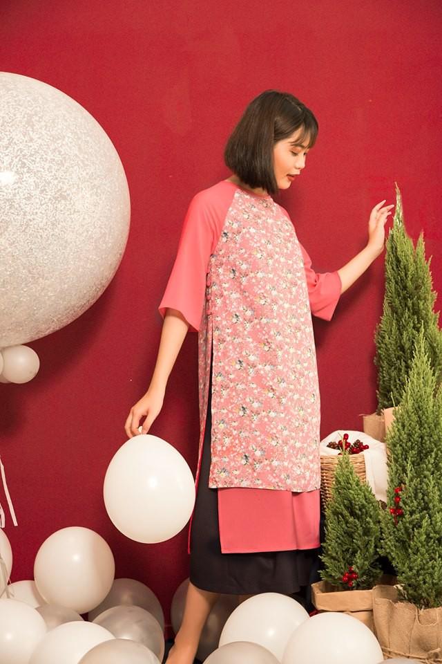 Còn đúng 1 tháng nữa là Tết, và đây là 7 mẫu áo dài cách tân đẹp duyên nhất cho nàng diện trong Tết này - Ảnh 29.