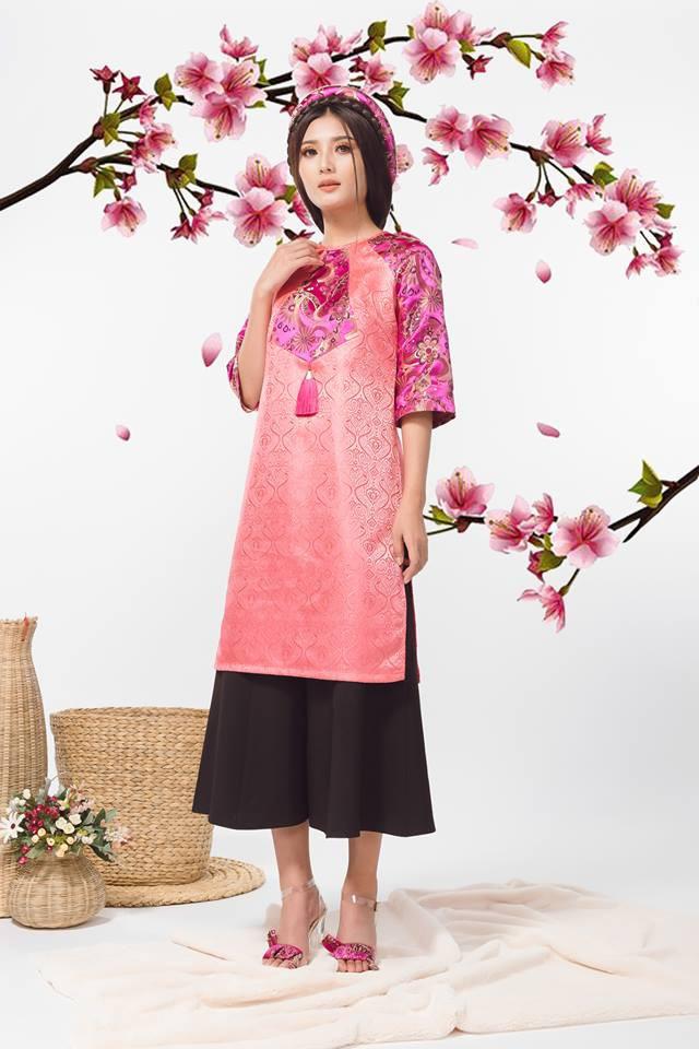 Còn đúng 1 tháng nữa là Tết, và đây là 7 mẫu áo dài cách tân đẹp duyên nhất cho nàng diện trong Tết này - Ảnh 31.