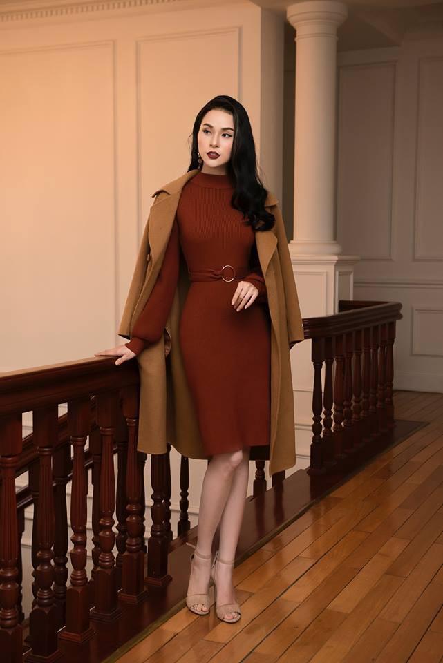 Tết này dự báo trời lạnh, và đây là những mẫu váy len vừa đẹp vừa ấm dành cho các nàng - Ảnh 13.