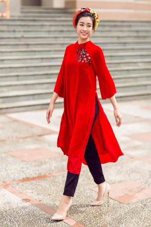 Bật mí cho 'nàng điệu' 5 kiểu áo dài 'thần thánh' vừa đẹp lại vừa thoải mái diện Tết - Ảnh 13.