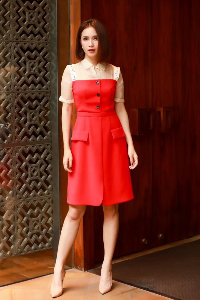 Nhìn Hà Tăng, Jolie Nguyễn... diện street style sắc đỏ mà chợt nhận ra: Tết đã về gần lắm rồi đây! - Ảnh 3.