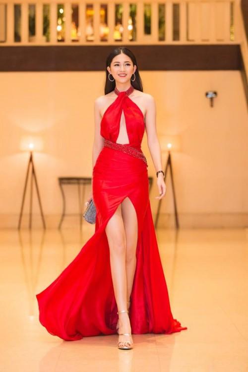 Gu thời trang 'đã mắt' của nàng Á hậu tuổi Tuất - Thanh Tú, người được đồn đoán sẽ tham gia Miss World 2018 - Ảnh 5.