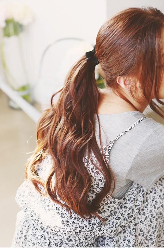 Tự tin giấu tóc bết dầu nhờ những kiểu tóc siêu đẹp và đơn giản trong dịp Tết - Ảnh 10.