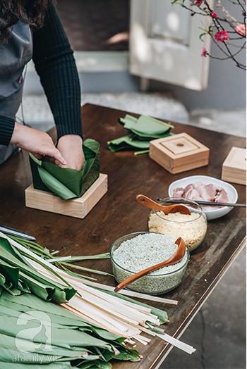 Với 2 cách gói bánh chưng này, nàng dâu mới sẽ được mẹ chồng khen nức nở vì tự gói được bánh vuông vắn lại cực ngon - Ảnh 4.