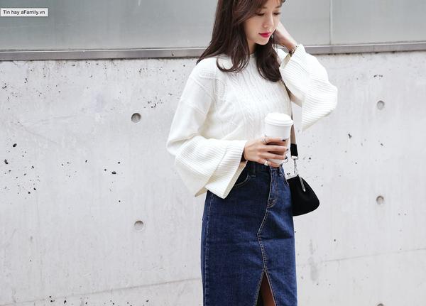 Tết này, nàng điệu đà sẽ thích mê với những biến tấu xinh xắn của chiếc áo len đơn giản - Ảnh 15.