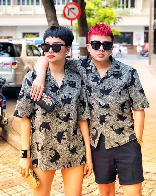 Ngoài cặp Kỳ Duyên - Diệp Lâm Anh, showbiz Việt còn cặp bạn thân Miu Lê - Duy Khánh cũng chăm diện đồ đôi - Ảnh 3.