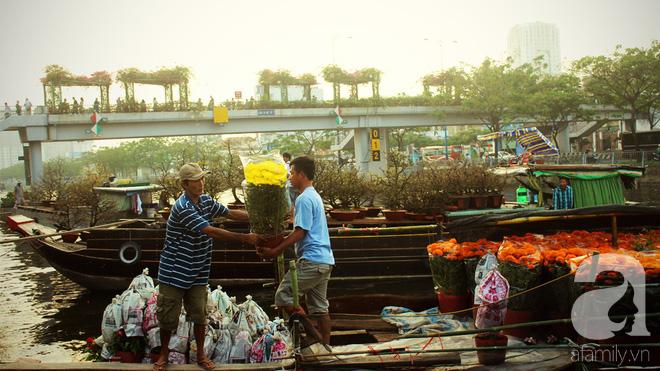 Cận Tết, ghé bến Bình Đông coi chợ nổi, tìm lại Sài Gòn xưa trong cảnh giao thương trên bến dưới thuyền - Ảnh 6.