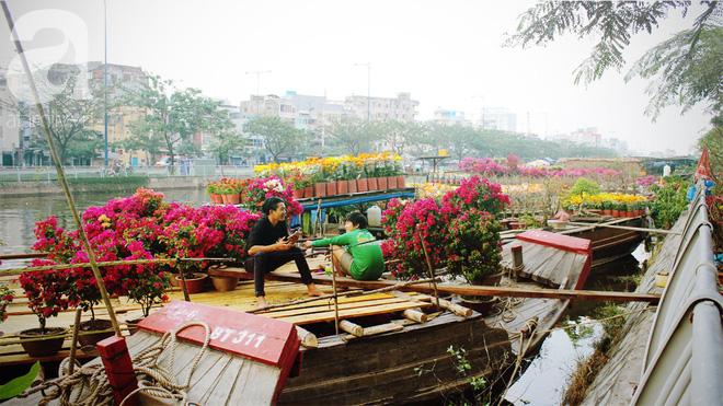 Cận Tết, ghé bến Bình Đông coi chợ nổi, tìm lại Sài Gòn xưa trong cảnh giao thương trên bến dưới thuyền - Ảnh 17.